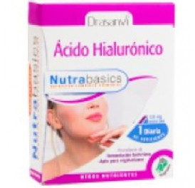 DRASANVI ACIDO HIALURONICO NUTRABASICS 30CAP