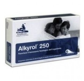 EUROHEALTH ALKYROL CHILDREN 250MG 120CAP