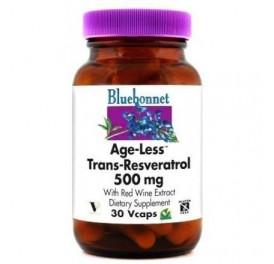 BLUEBONNET AGE-LESS TRANS-RESVERATROL 250MG 30CAP