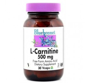 BLUEBONNET L-CARNITINA 500MG 30CAP
