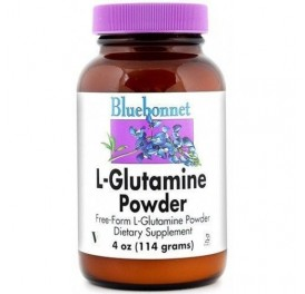 BLUEBONNET L-GLUTAMINA POLVO 114GR