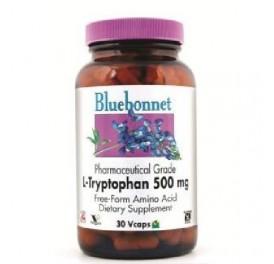 BLUEBONNET L-TRYPTOPHAN 500MG 30CAP
