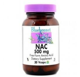 BLUEBONNET NAC 500MG 30CAP