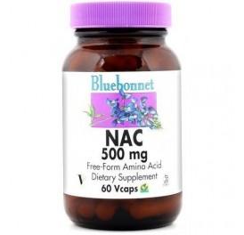BLUEBONNET NAC 500MG 60CAP