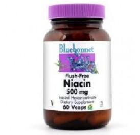 BLUEBONNET NIACINA NO RUBORIZANTE 500MG 60CAP
