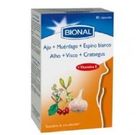 BIONAL AJO+MUERDAGO+ESPINO BLANCO 80CAP