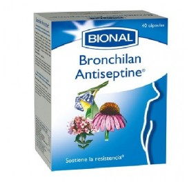 BIONAL BRONCHILAN ANTISEPTINE 40CAP