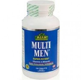 ALFA VITAMINS MULTI MEN 100C