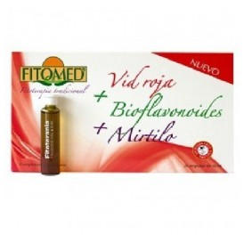 DIETICLAR FITOMED VID ROJA+BIOFLAVONOIDES 20AMP