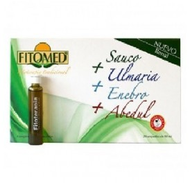 DIETICLAR FITOMED SAUCO+ULMARIA+ENEBRO+ABEDUL 20AMP