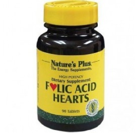 NATURE'S PLUS ACIDO FOLICO HEARTS 90COMP