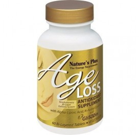 NATURE'S PLUS AGE LOSS 60COMP