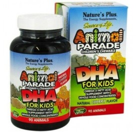 NATURE'S PLUS ANIMAL PARADE DHA 90COMP MASTICABLES