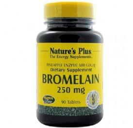 NATURE'S PLUS BROMELAINA 250MG 90COMP