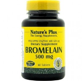 NATURE'S PLUS BROMELAINA 500MG 60COMP